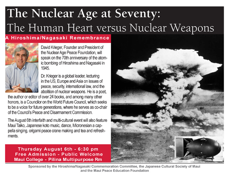 Flyer-Nuclear age at 70
